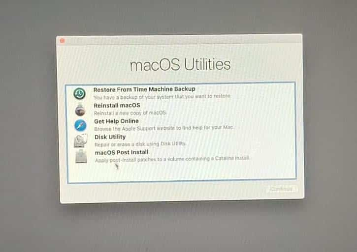 complete installing macos on unsupported Mac hardware