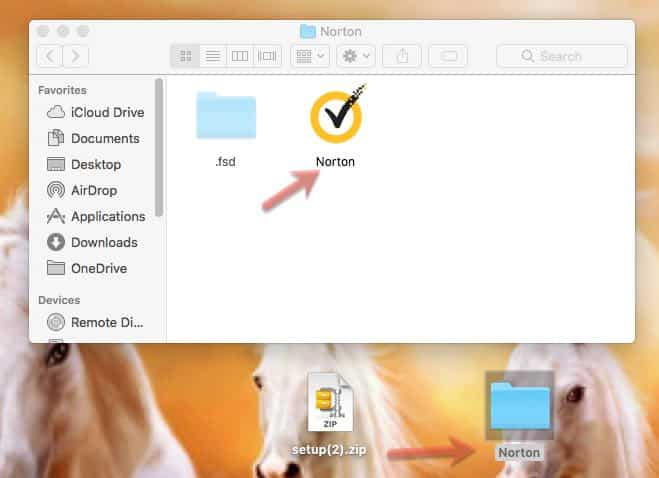 Norton Security 360 installer