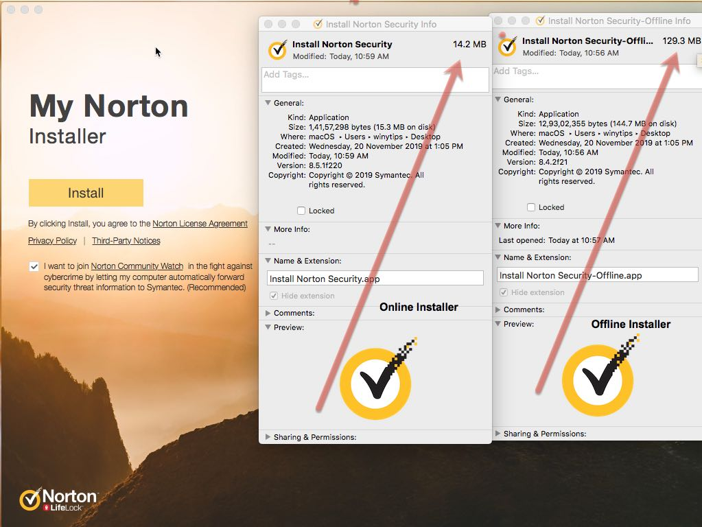 Norton 360 Security full offline installer