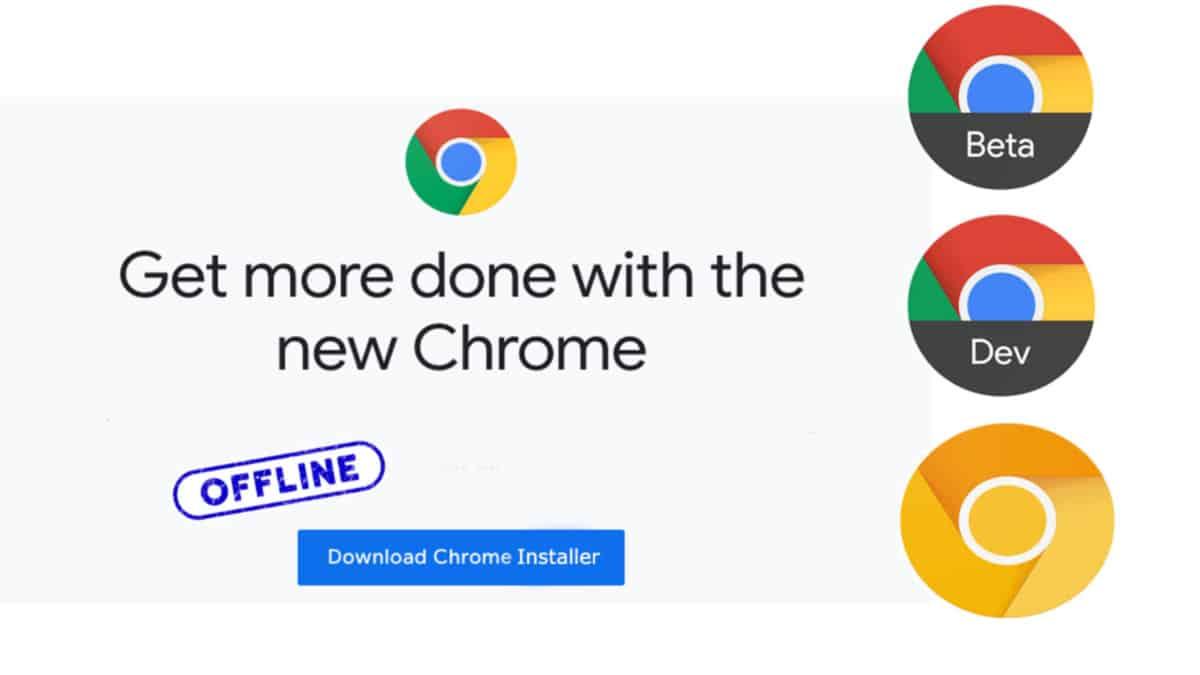 Google Chrome Offline Installer For Windows Pc V 85 0 4183 83