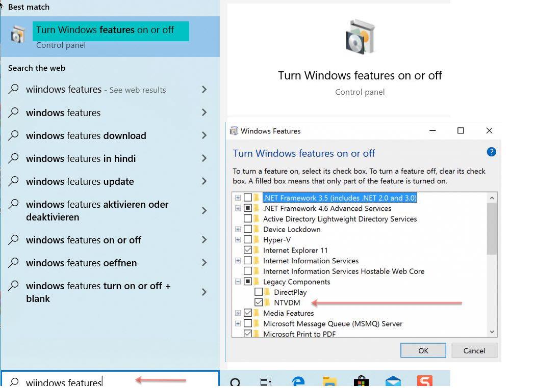 run old 16-bit DOS programs on Windows 10