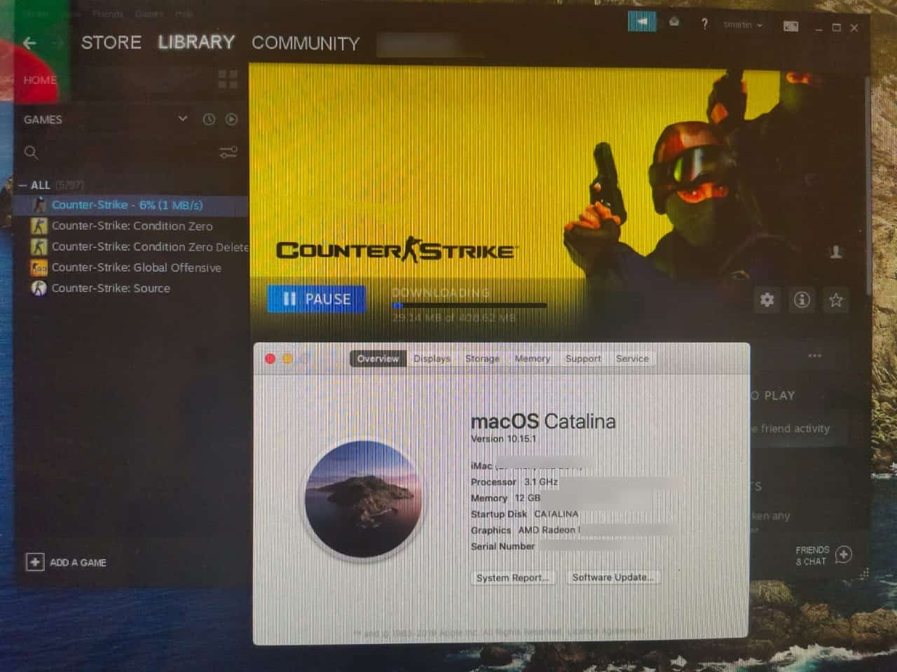 Play 32-bit Steam Games macOS Catalina
