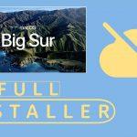 macOS 11 Big Sur Offline Installer