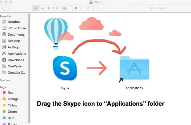 Install Skype on macOS